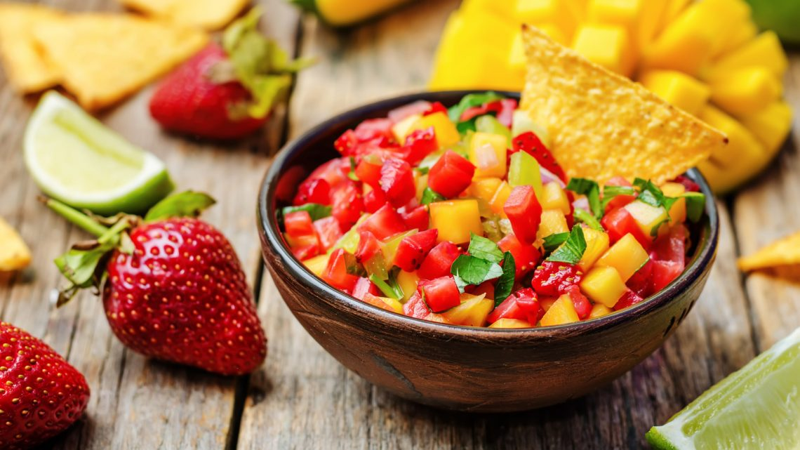 Erdbeer-Oliven-Salsa