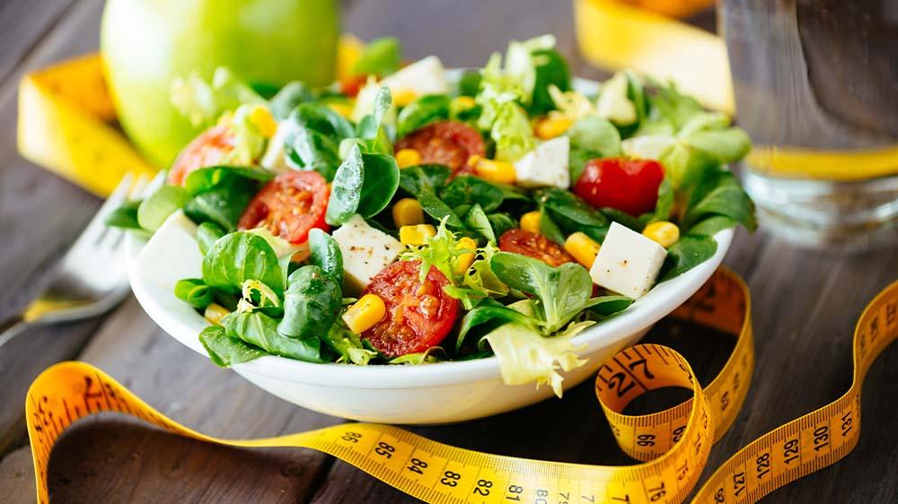 Abnehmen und Gewicht halten