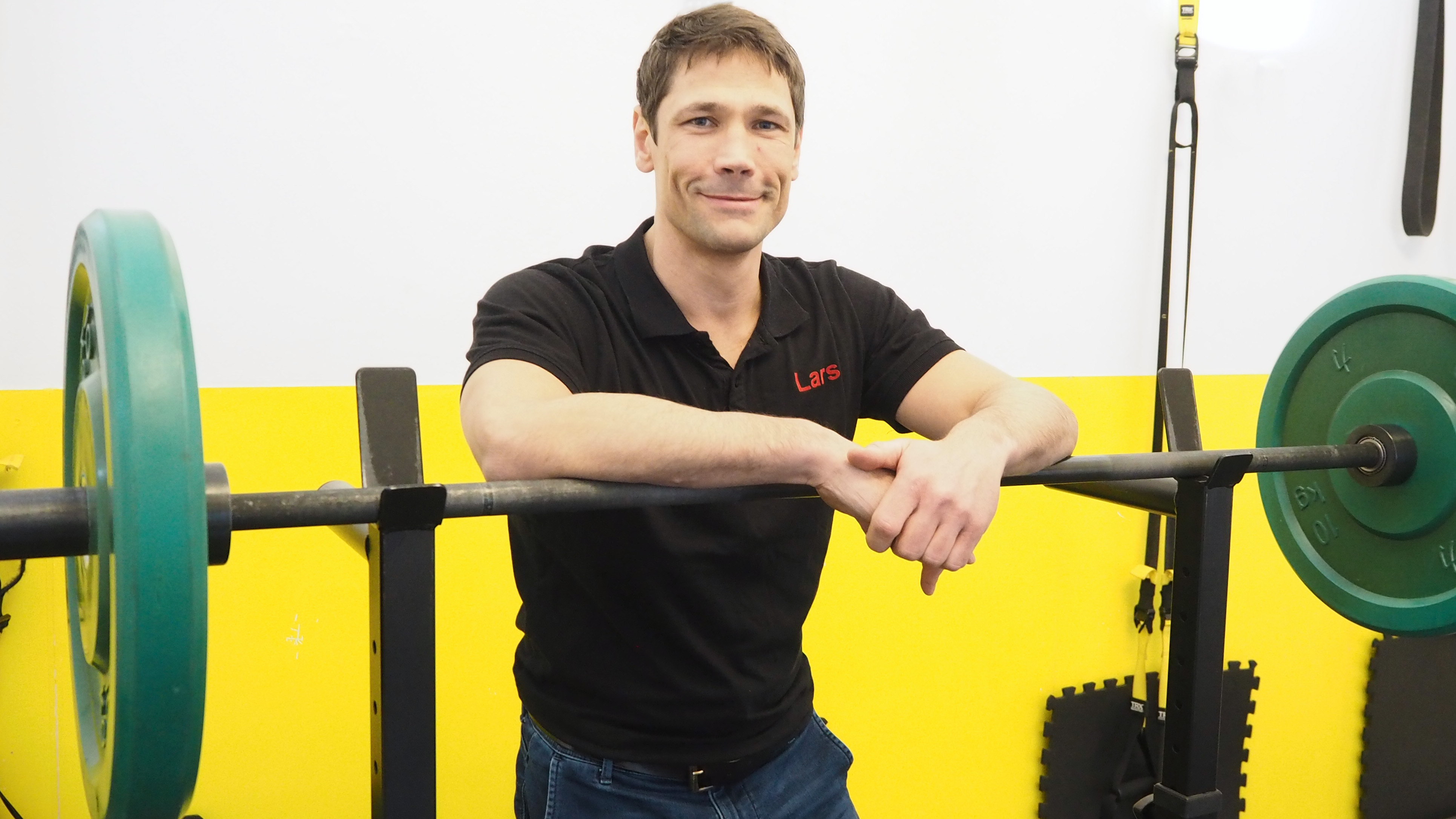 Lars Rosenbaum ist Geschaeftsfuehrer des Personal Fitnessstudios Ignite Fit