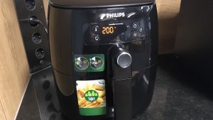 Philips Airfryer Turbostar Heißluftfriteuse