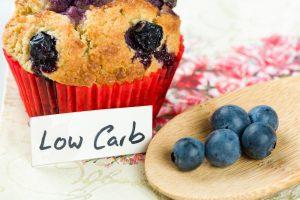 Blaubeeren Muffin Low Carb