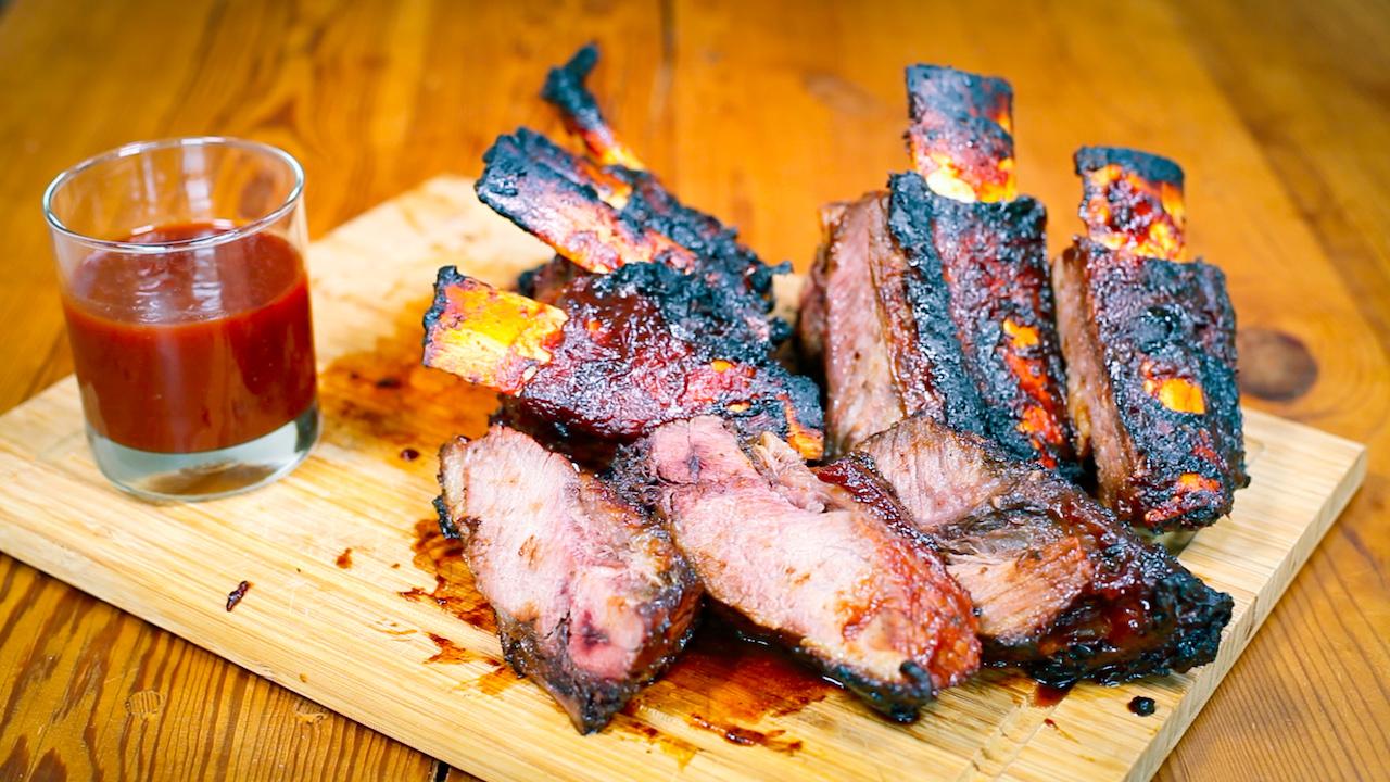 BBQ-Ribs vom Grill