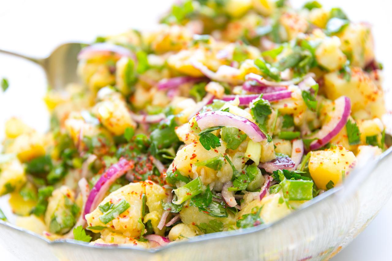 Frühlings Kartoffelsalat Koch Mit
