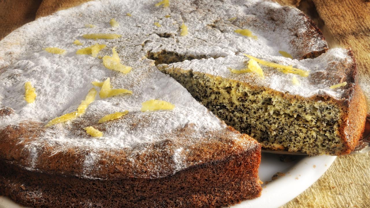 Mohnkuchen ohne Mehl