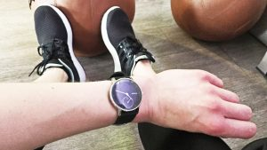 Withings Steel HR beim Workout