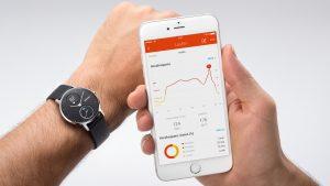 Die Health Mate App für die Withings Steel HR.