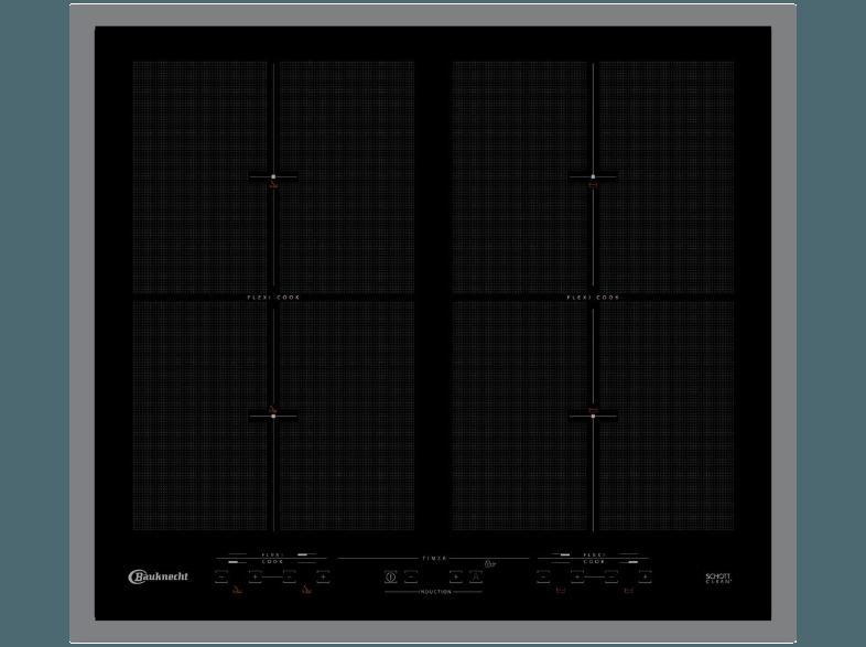 BAUKNECHT-CTAI-9640FFS-IN-Induktionskochfeld-(580-mm-breit--4-Kochfelder)