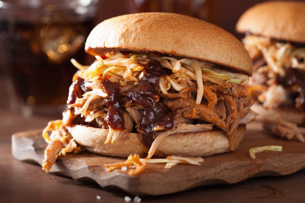 Honig BBQ Pulled Pork Burger