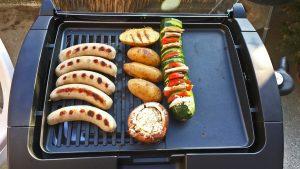 Guter Elektrogrill Für Würstchen : Grillen auf dem balkon der cloer elektrogrill im test u koch mit