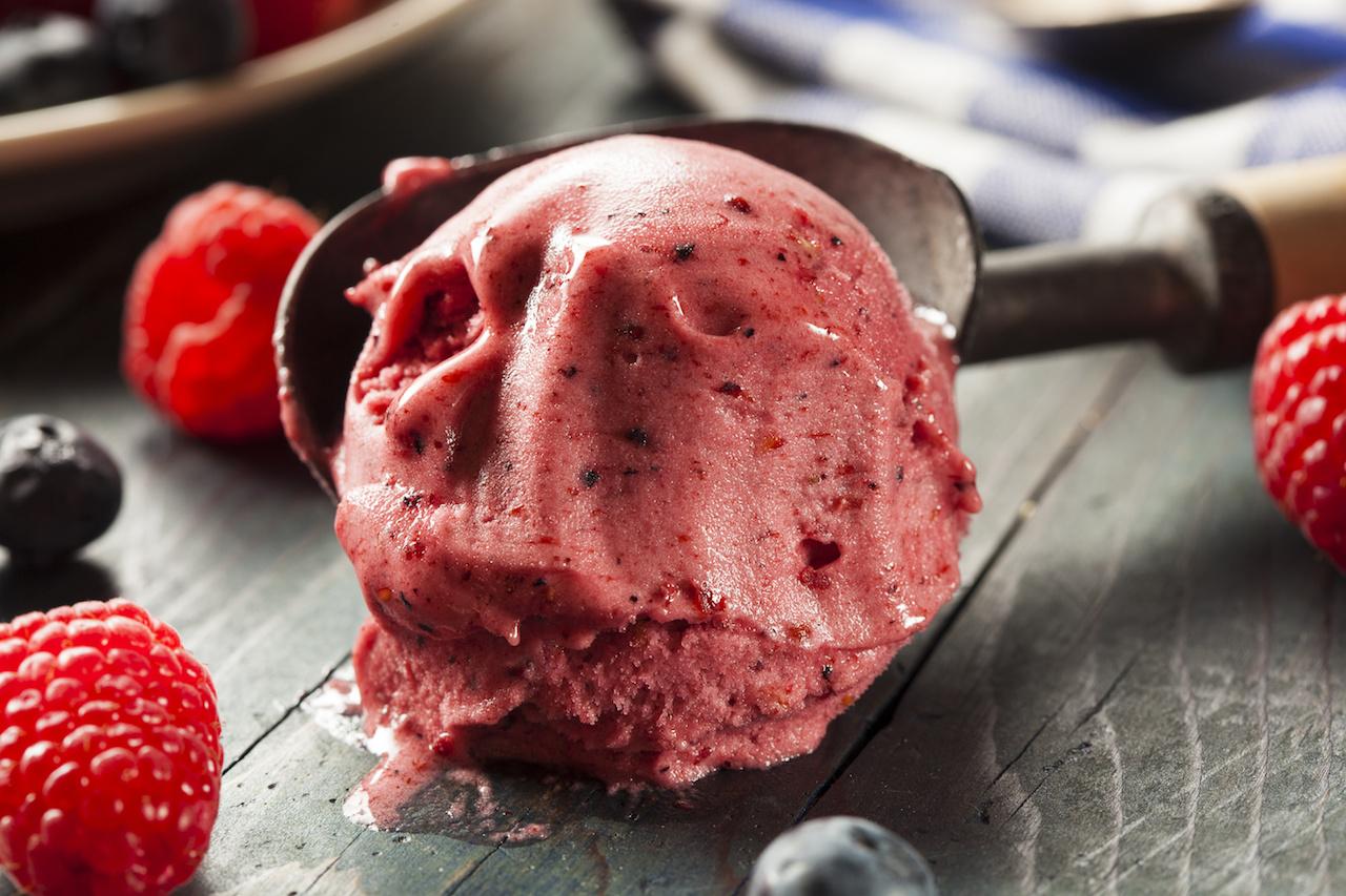 Himbeer Joghurt Eis