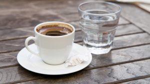 Kaffeetasse mit Wassergöas