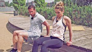 Arme beim Bikini Workout trainieren