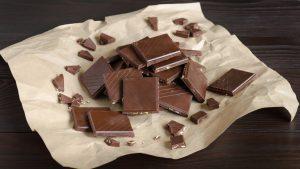 Milchschokolade ist besonders reich an Kupfer