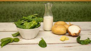 Spinat und Kartoffeln helfen gegen Sodbrennen