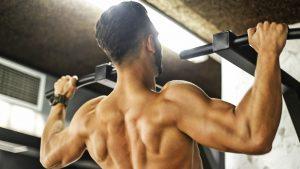Klimmzüge trainieren die Rueckenmuskulatur