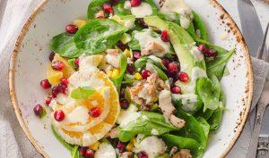Huehnchen Salat