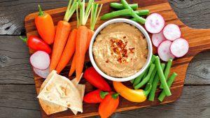 Hummus mit Erdnuss