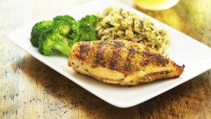 Meal Prep Huhn und Reis