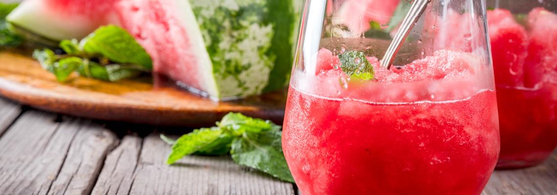 Melonen-Slush