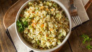 Low Carb Blumenkohl Reis