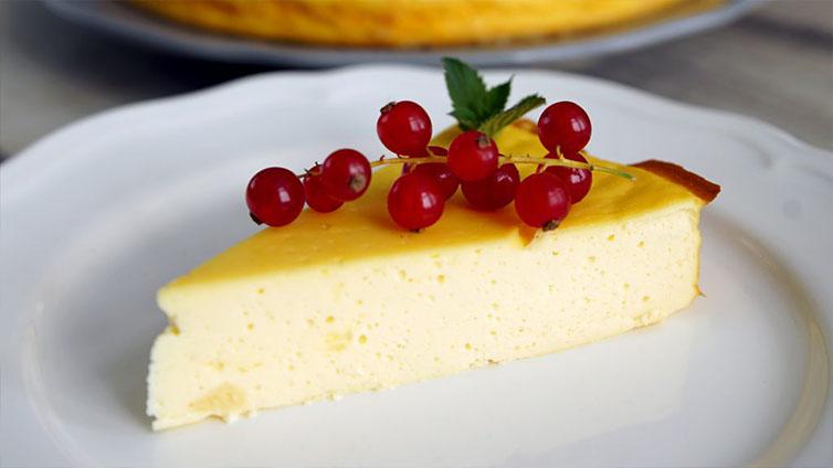 Low-Carb-Käsekuchen ohne Boden