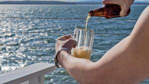 Alkoholfreies Bier nach dem Sport