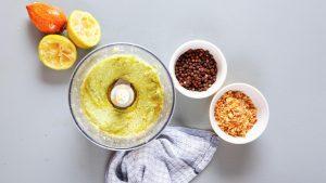 Guacamole im Mixer