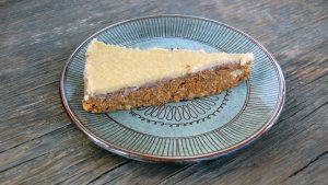Veganer Raw Carrot Cake