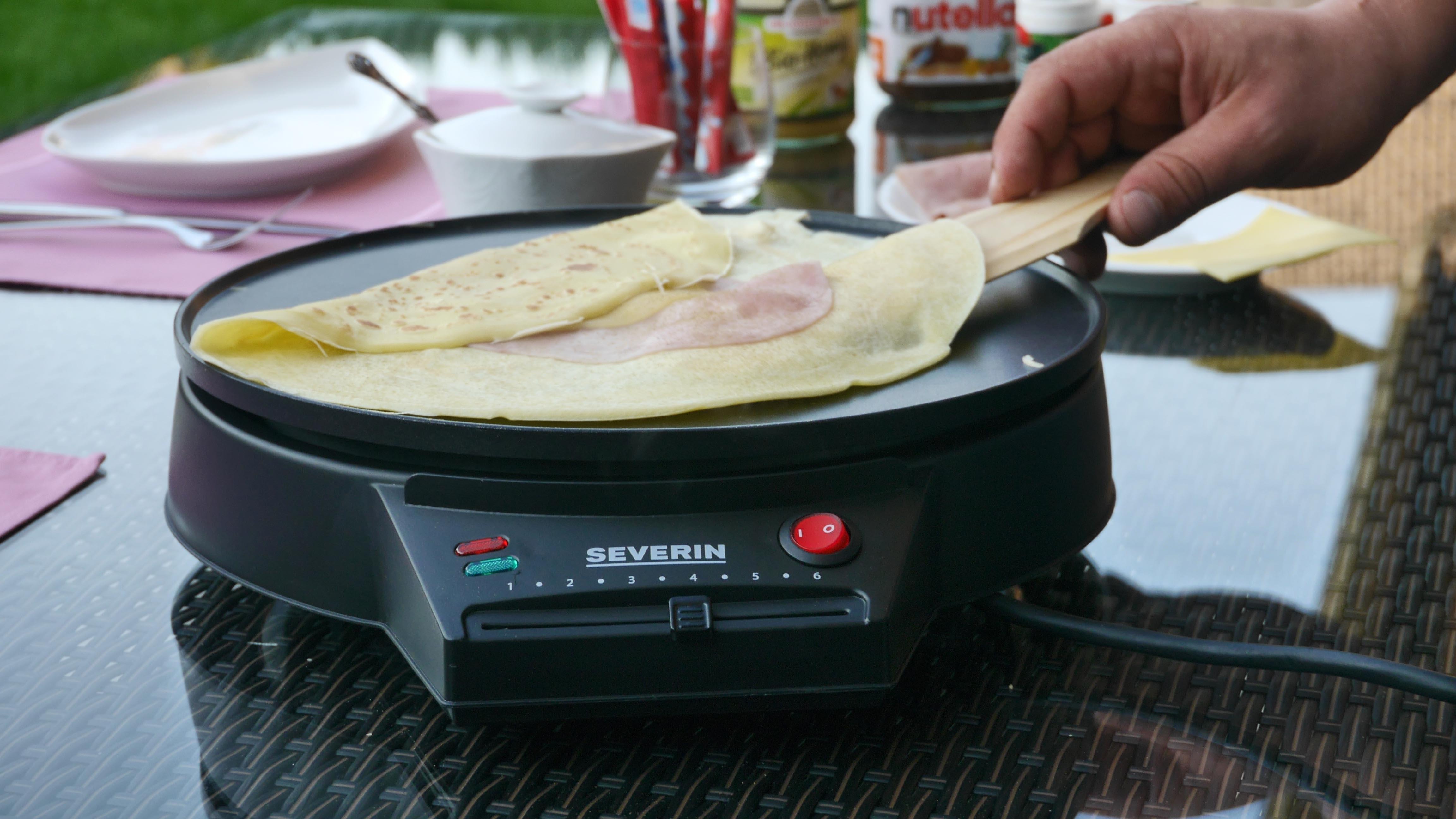 Küchenkleingeräte Test ~ der severin cr u00eapes maker im test hauchzarte cr u00eapes wie in frankreich u2022 koch mit