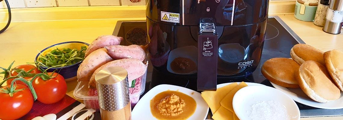 Knusprige s kartoffelpommes aus der caso af 200 for Koch quiz mit antworten