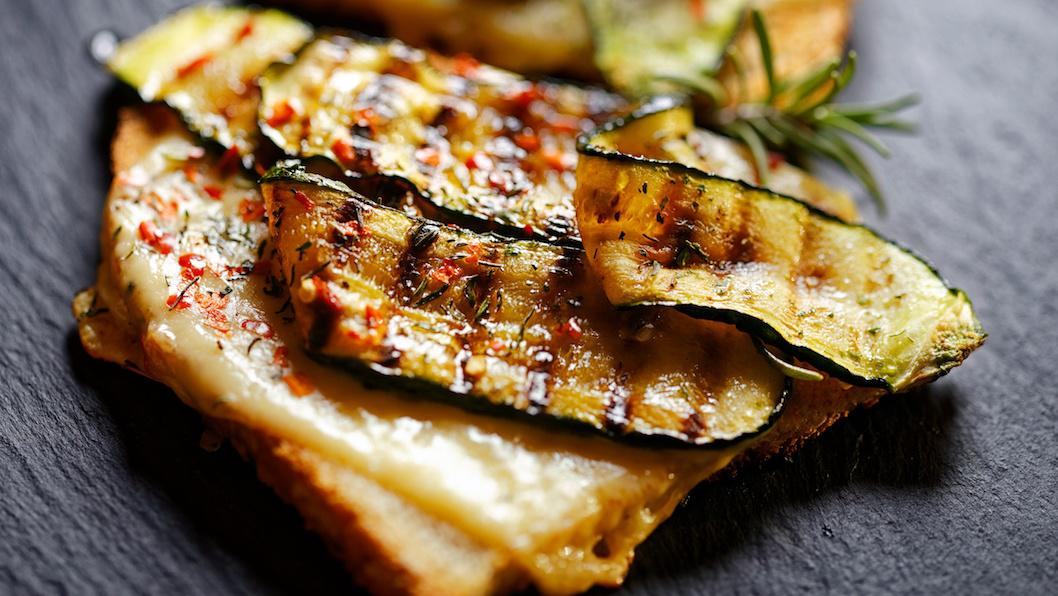 Gesunde Sandwiches aus dem Sandwichmaker