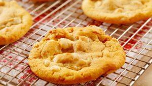 Macadamia und weissse Schokolade Cookies