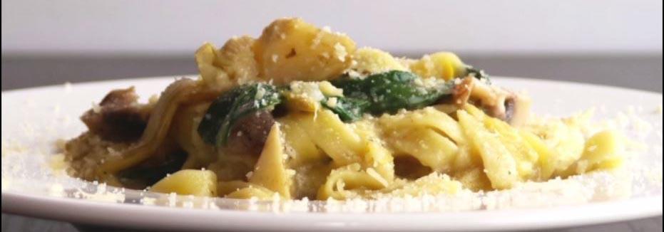 Schnelle Küche: One-Pot-Pasta mit Pilzen