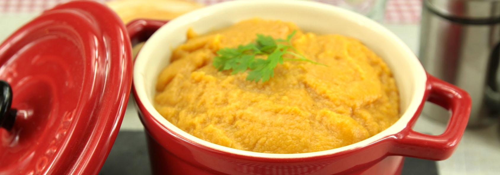 Rezept für Süßkartoffelpüree
