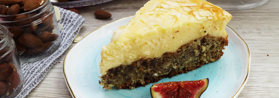 Nuss Pudding Kuchen Koch Mit
