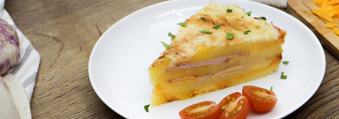 Herzhafter Kartoffel Kase Kuchen Mit Schinken Koch Mit