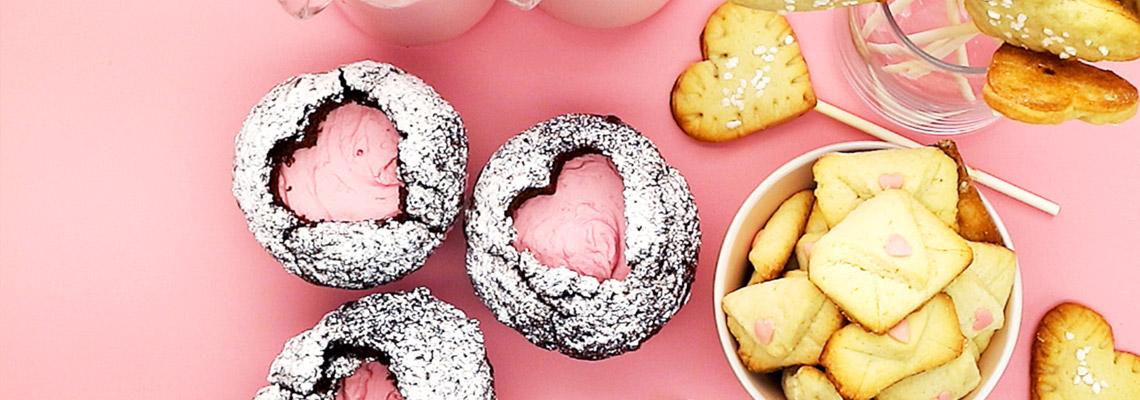 Backen Zum Valentinstag Drei Susse Ideen Koch Mit