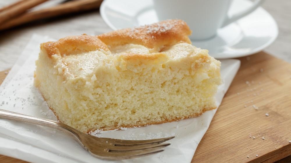 Klassischer Zuckerkuchen
