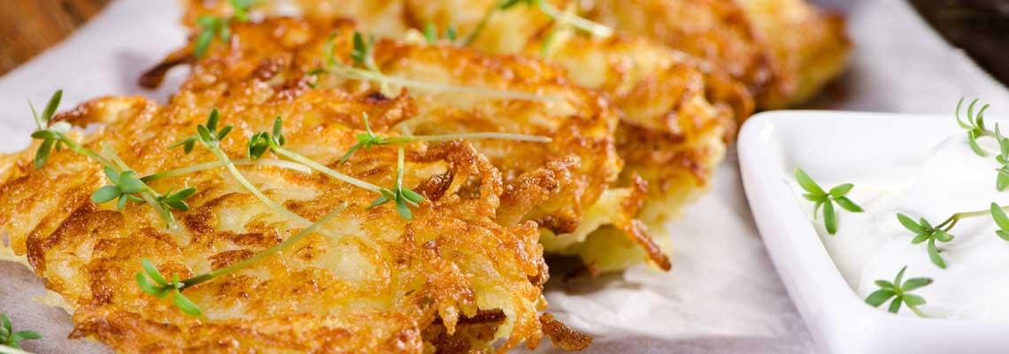 Knusprige Kartoffel-Röstis