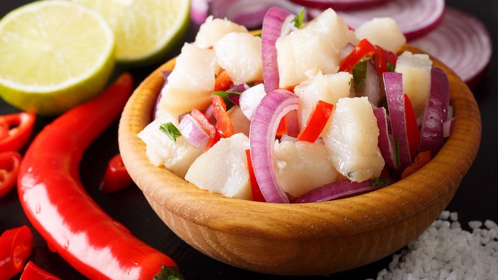 Ceviche aus Peru
