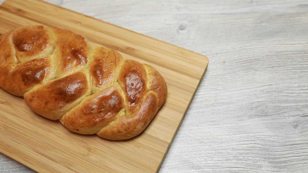 Schmeckt nicht nur zu Ostern: Hefezopf
