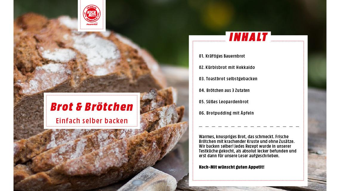 Rezeptheft Brot und Brötchen