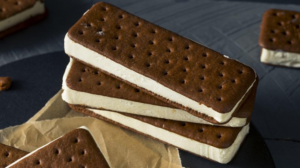 Sandwich Eis selber machen