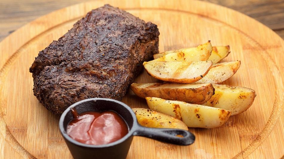 Gegrillt: Steak aus dem Airfryer