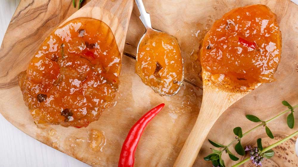 Fruchtig: Aprikosen-Chutney