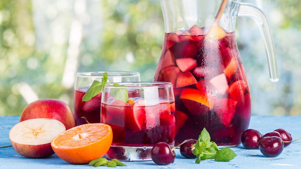 Fruchtige Sangria