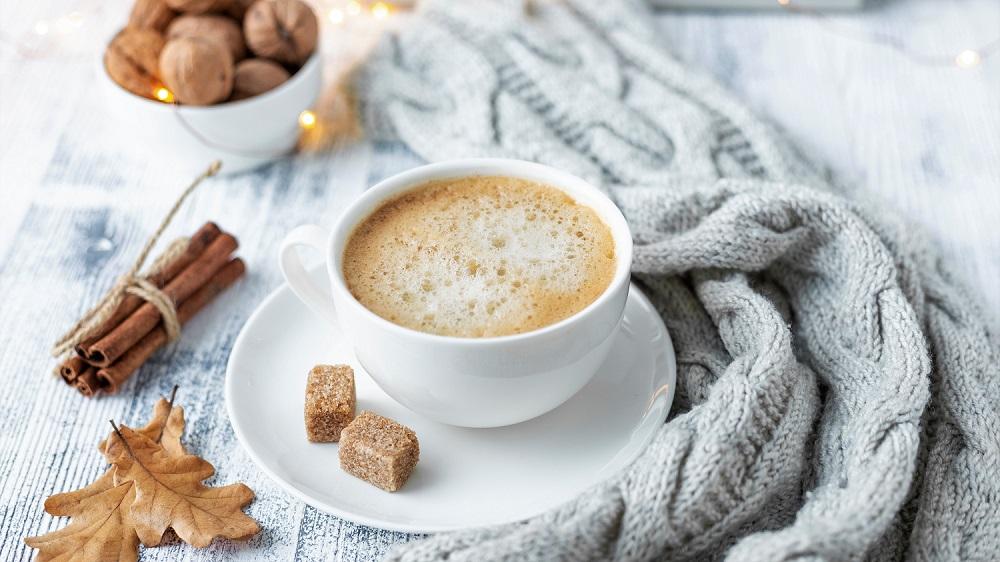 Winterkaffee mit Zimt