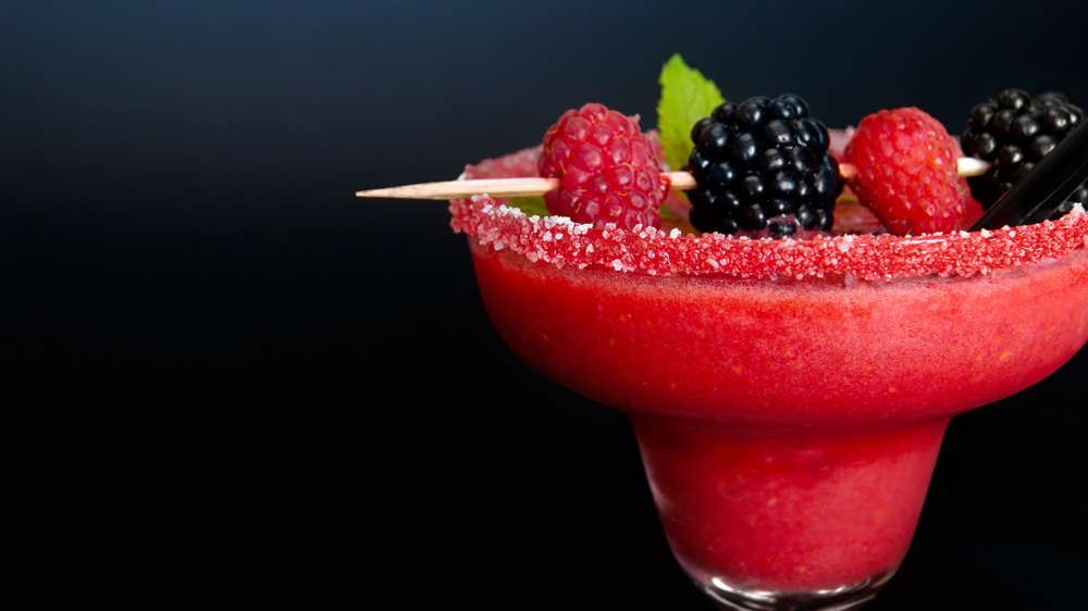 Himbeer-Sahne-Cocktail