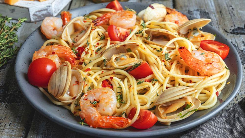 Frutti di Mare Spaghetti