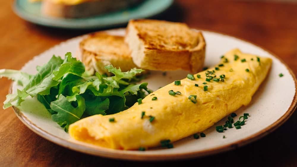 Omelett perfekt!